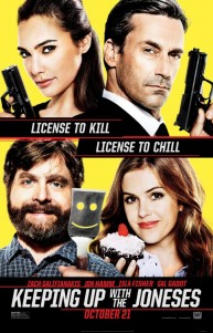 Ajan Komşular | Keeping Up with the Joneses 2017 | Aile Filmi izle